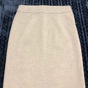Stretchy Gray Pencil Skirt